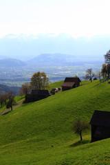 Landwirtscahft im Gebirge