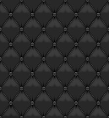 Blask Seamless Leather Background
