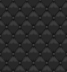 Blask Seamless Leather Background