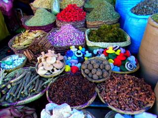 マラケシュの市場