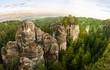 Sandstone rocks in Bohemian Paradise - 69934158