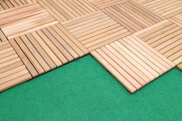 wood deck panel floor background