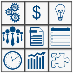 Business Abstract Grid