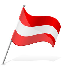 flag of Austria vector illustration