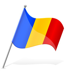 flag of Romania vector illustration