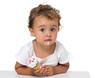 Baby with ice cream