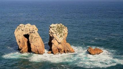 Formas en el mar
