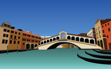 Set of Venice Building and Architecture Landscape