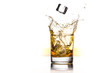 canvas print picture - Whisky