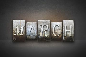March Letterpress
