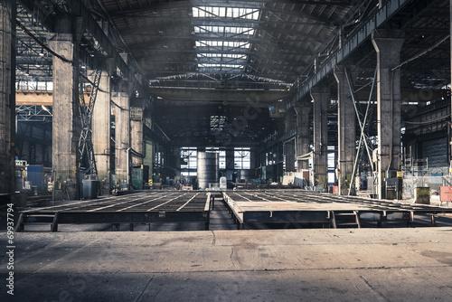 Iron workshop of shipyard - 69937794