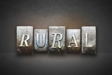 Rural Theme Letterpress