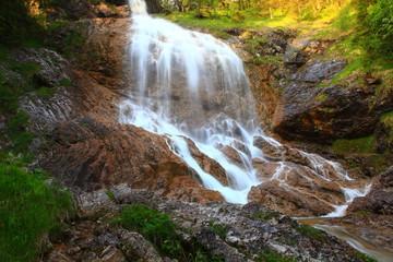Wasserfälle in Hinterstein