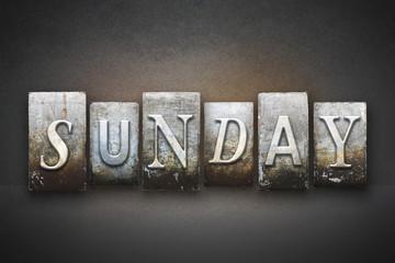 Sunday Letterpress