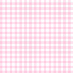 Karo Tischdecken Muster ROSA - endlos