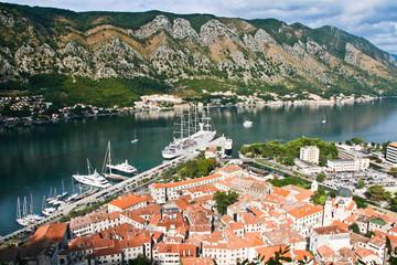 Montenegro, Kotor, panorama