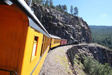 Vintage steam train / Durango (Colorado)