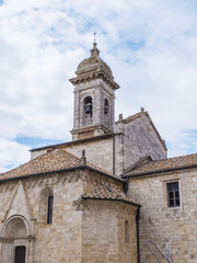 San Quirico d'Orcia - Church