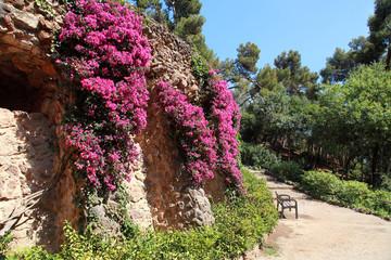 Park Guell by Antoni Gaudi, Barcelona, Spain
