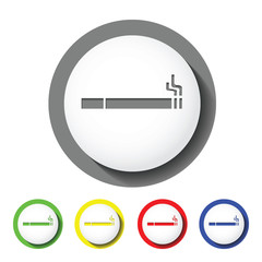 cigarette sign icon
