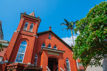 A beautiful church in Tamsui, Taipei, Taiwan