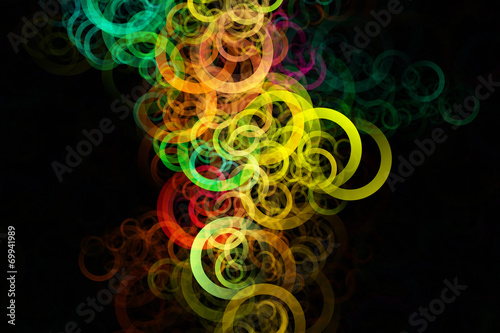 Leinwanddruck Bild fantastic elegant powerful background design illustration
