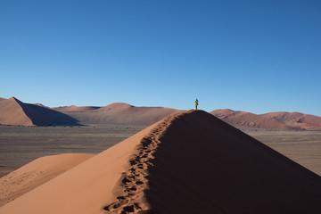 In cima alle dune Sesriem