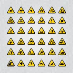 panneaux, picto, securité, danger, attention