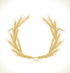 Wreath of wheat