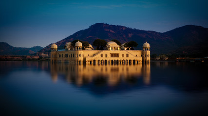 A beautiful view of jal mahal in Jaipur