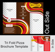 Tri Fold Pizza Brochure Tempate