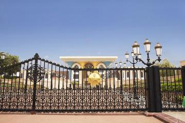 Оман. Дворец Аль-Алам.
