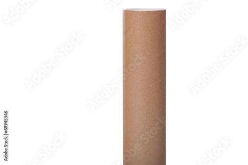 Leinwanddruck Bild cardboard tube