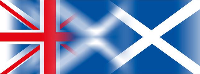 england scotland united kingdom flags