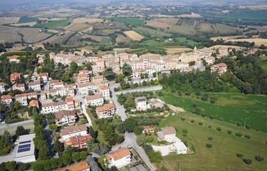 Foto aerea Barbara (Ancona, Marche, Italia)