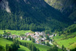 Leinwandbild Motiv Samnaun - Alpen - Schweiz