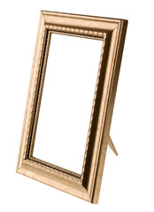 Empty frame isolated on white