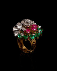 Close - up of diamond ring