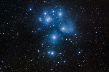 M45 - The Pleiades, the seven sisters