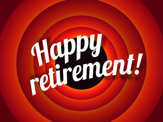 Happy retirement !