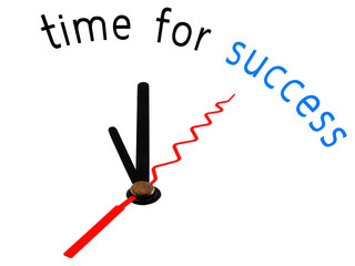 Time for success with clock concept