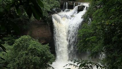Haew Su Wat Waterfall, Khao Yai National park, Thailand.