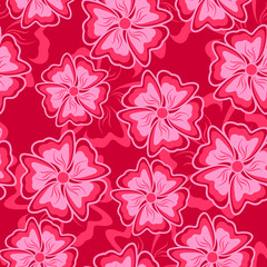 Crimson seamless background.