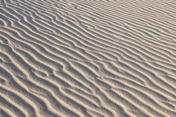 Dunes in Death Valley. sand pattern