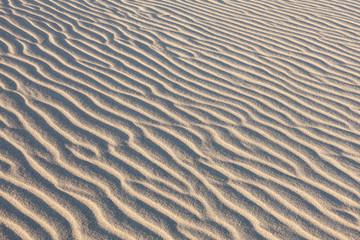 Dunes in Death Valley. sand pattern