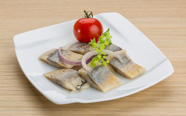 Sliced herring