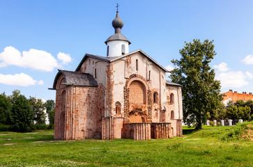 Church of St. Paraskeva at Yaroslav's Court in Veliky Novgorod,