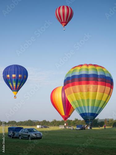 Foto op Canvas Ballon Montgolfiere #81