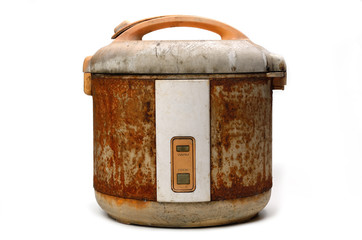 Rice Cooker in Grunge condition