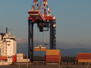 Container seaport Operation
